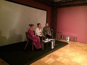 Спикеры слева направо: Мария Коростелева, Елизавета Фокина, Олег Николаев. Фото: Никита Нестеров