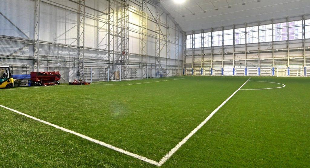В Москве завершено строительство футбольного стадиона «Олимп»