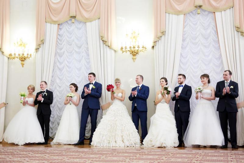 Более 30 пар зарегистрируют брак в первый рабочий день 2019 года на юге