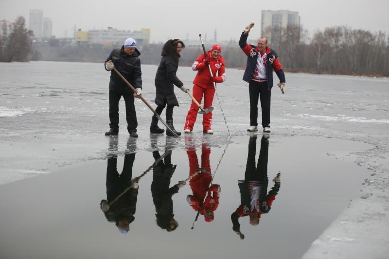 Правила поведения на замерзших водоемах