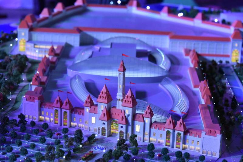 Копия «Дома костей» появится в парке «Остров мечты»