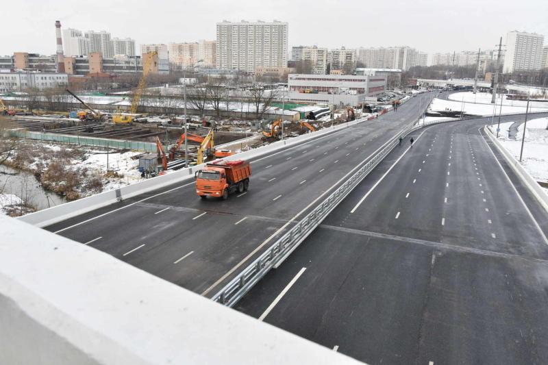 Мост в составе Юго-Восточной хорды построят к 2022 году. Фото: архив, «Вечерняя Москва»