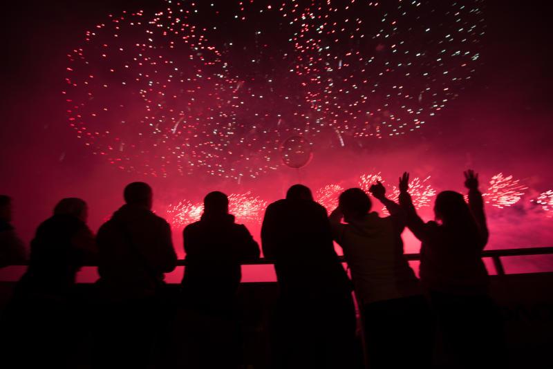 Разноцветные пионы и шары: в каких парках юга устроят новогодние пиротехнические шоу