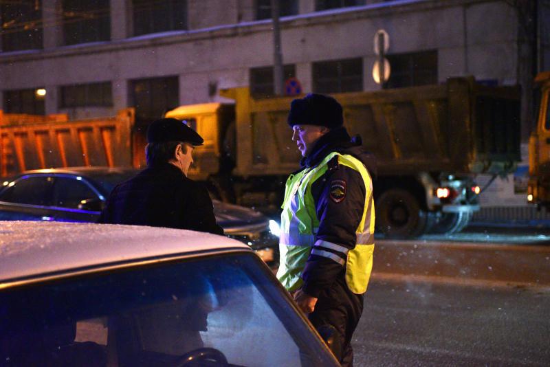 В Южном округе Москвы полицейскими проводится мероприятие «Нетрезвый водитель»