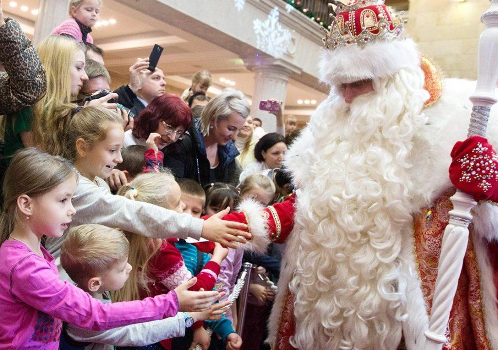 Новогодние сокровища Деда Мороза найдут юные жители юга
