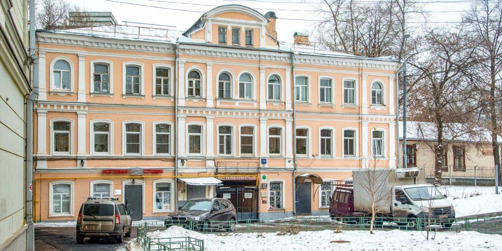 Здание относится ко второй половине XIX века. Фото: mos.ru