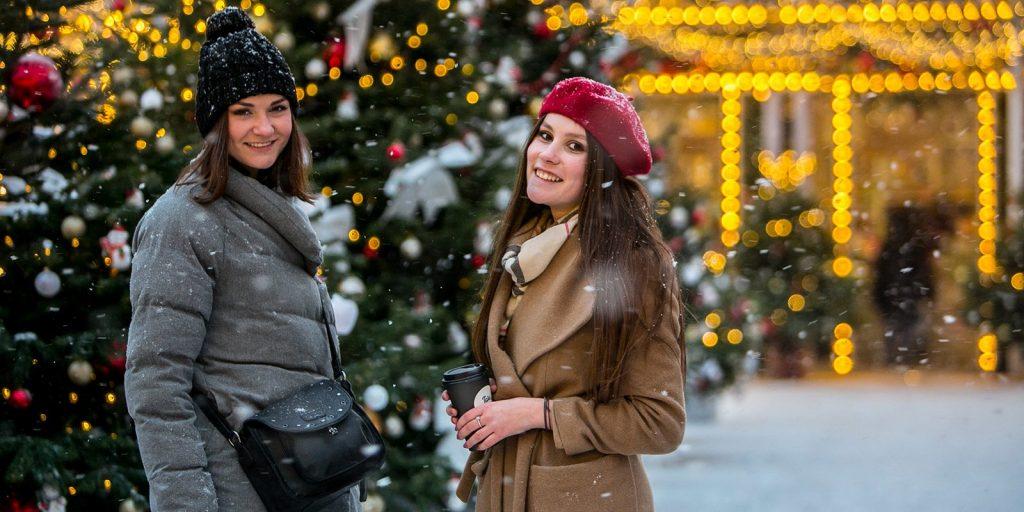 Парки Москвы пригласили на празднование Нового года