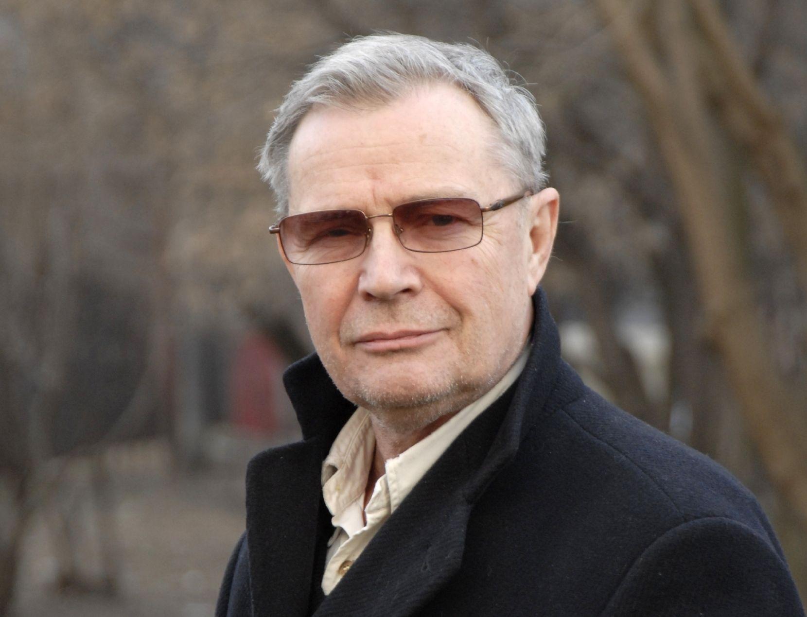 27 марта 2008 года. Народный артист России, актер, художник и поэт Лев Прыгунов. Фото: pxotoxpress