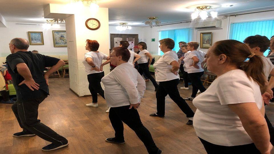 Занятие по дыхательной гимнастике состоялось в центре социального обслуживания «Орехово»