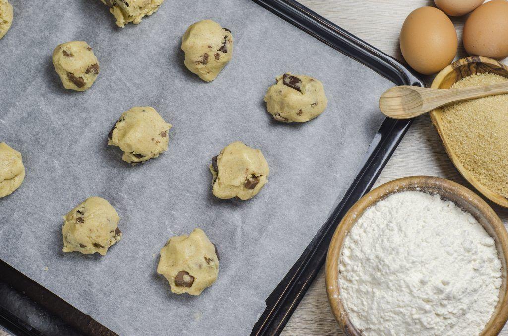 Печенье с шоколадом. Фото: Валентин Звегинцев