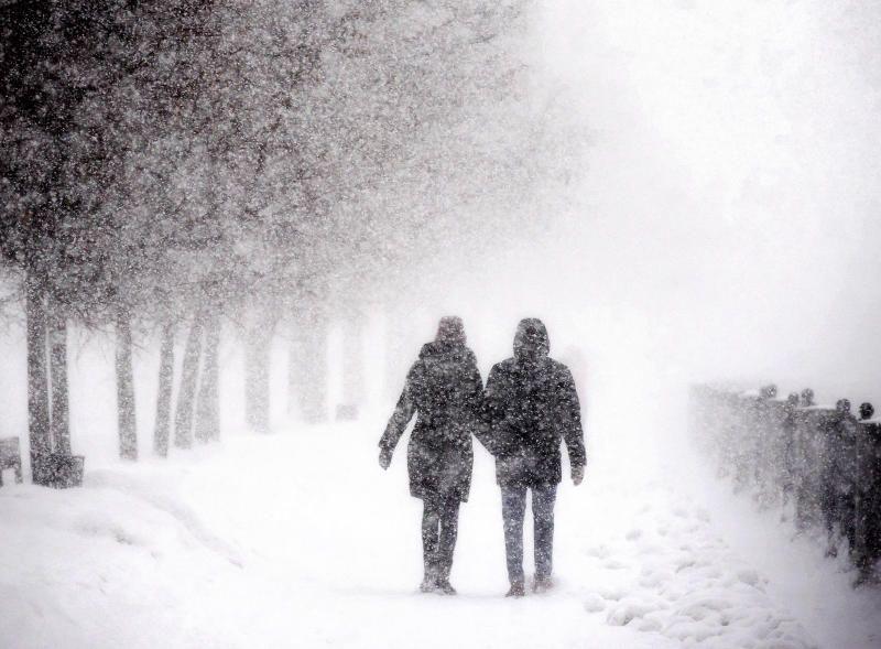 На выходных в Москву придет сильный снегопад