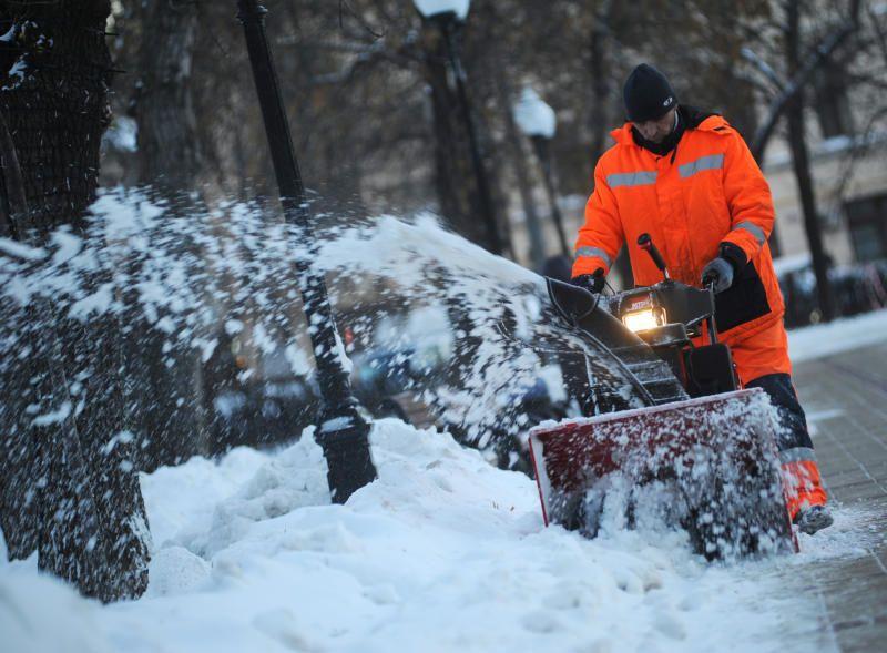 Рекордное количество снега вывезли с улиц Москвы
