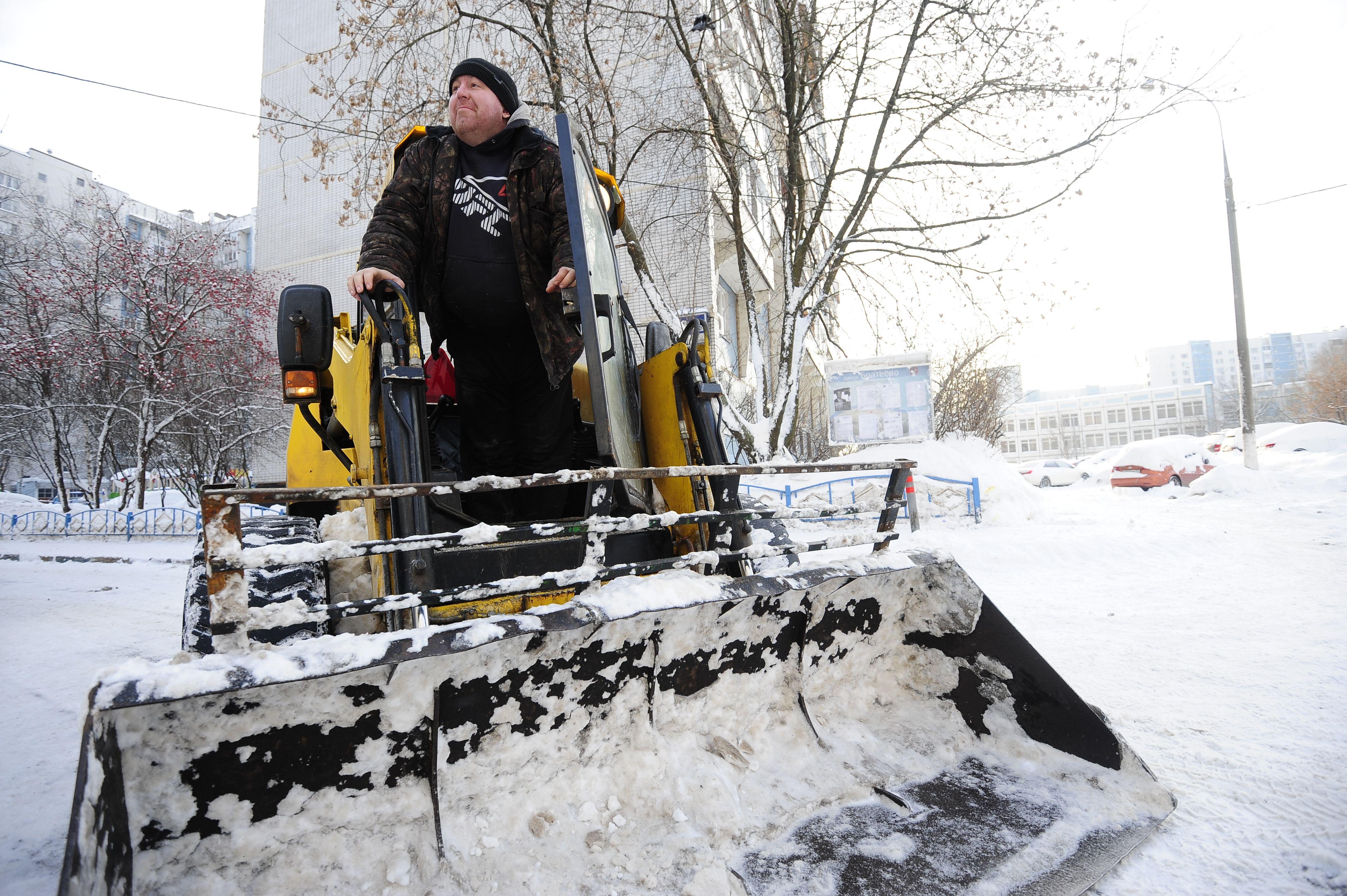 Москва приготовилась к борьбе со снегопадом на выходных