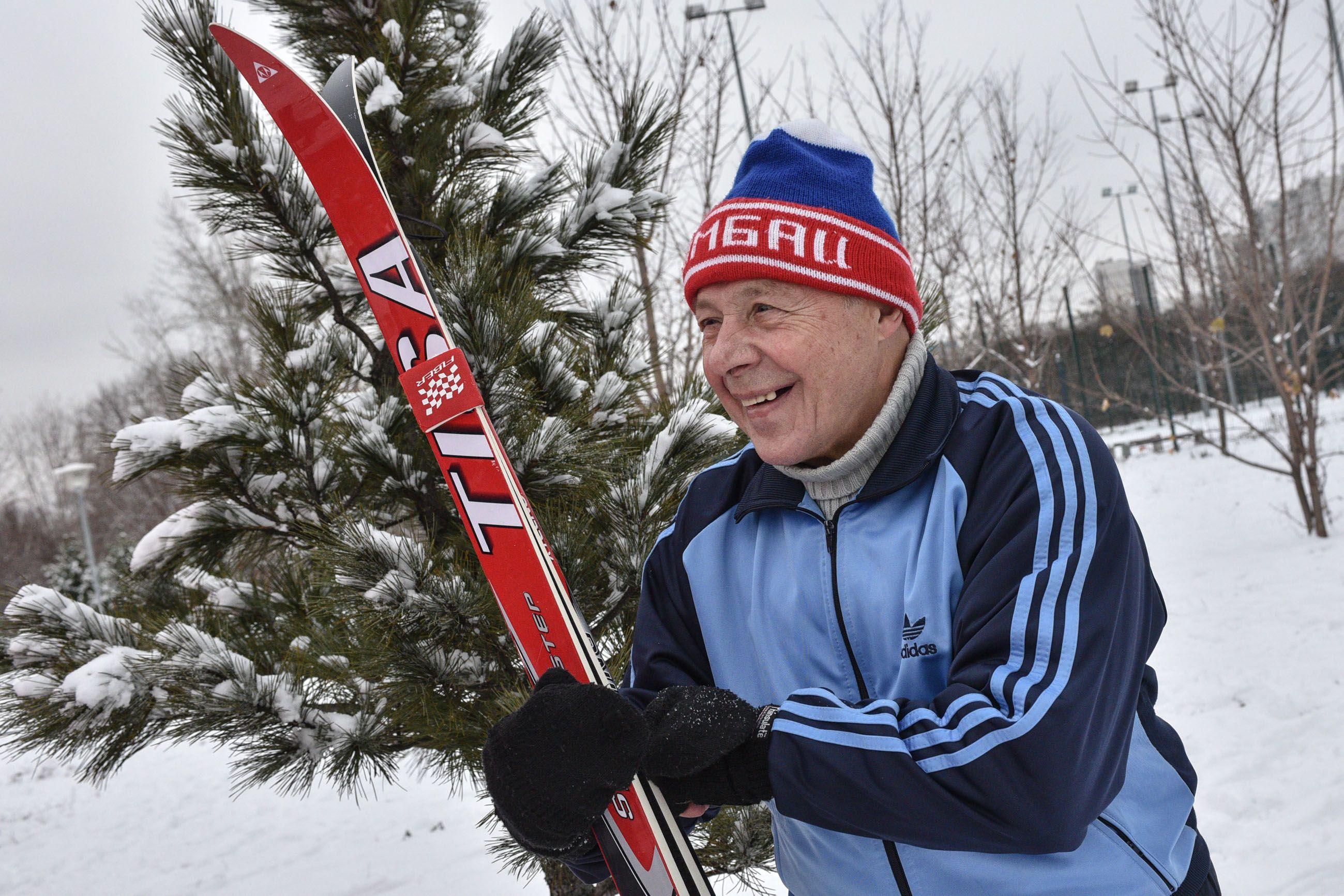 Москвичам напомнили о правилах занятий спортом на морозе