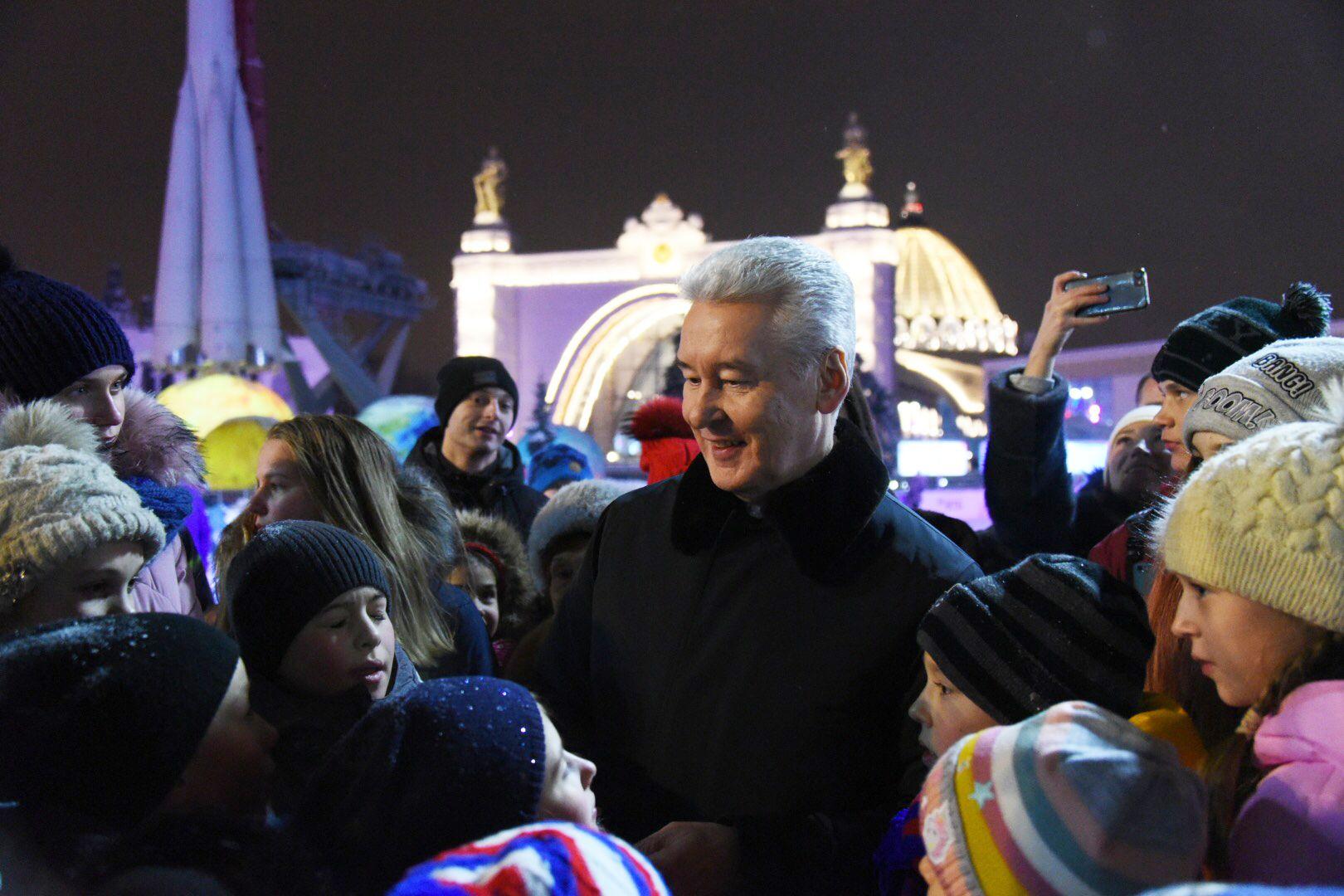 Сергей Собянин предложил москвичам отпраздновать Старый Новый год