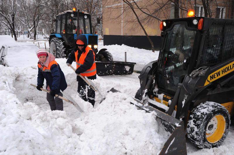 Городские службы справляются со снегом. Фото: Светлана Колоскова