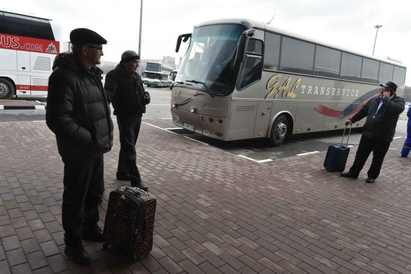 Два дополнительных рейса отправятся с автостанций юга