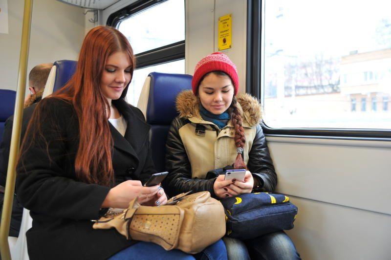 Более десяти миллионов подключений к бесплатному Wi-Fi в электричках зафиксировали за 2018 год