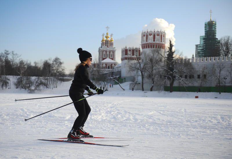 Московские лыжные трассы привели в порядок