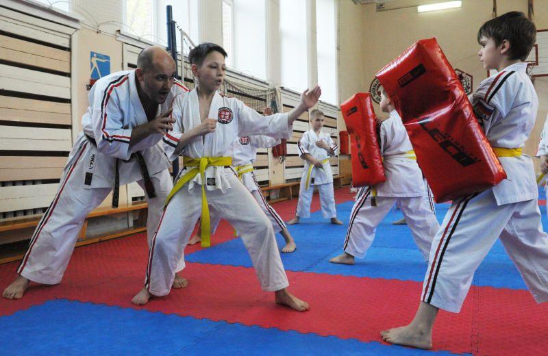 Почти сто юных спортсменов поучаствовали в соревнованиях по карате киокушинкай на юге
