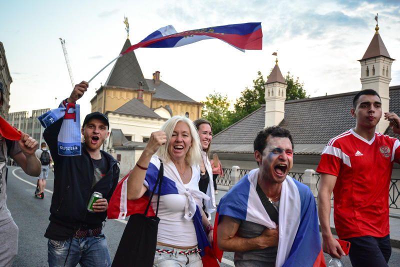 За время чемпионата мира по футболу Москву посетили 4,5 млн туристов. Фото: Пелагия Замятина, «Вечерняя Москва»