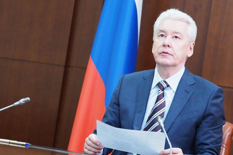 Мэр Москвы Сергей Собянинм