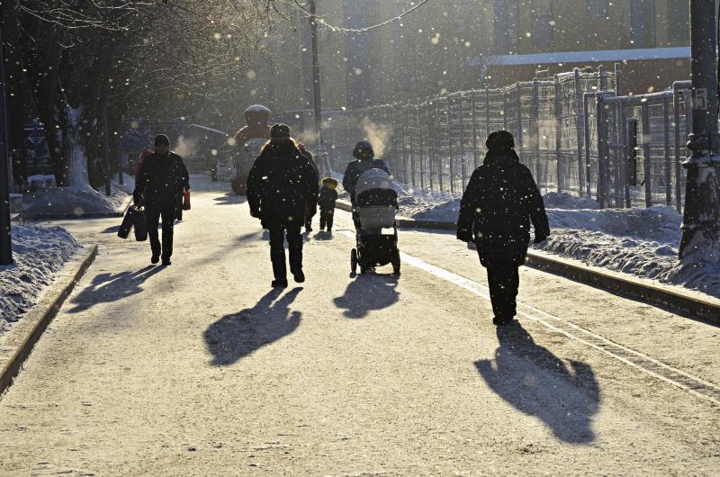 Ленинский проспект вошел в число популярных у пользователей интернета улиц. Фото: Анна Быкова