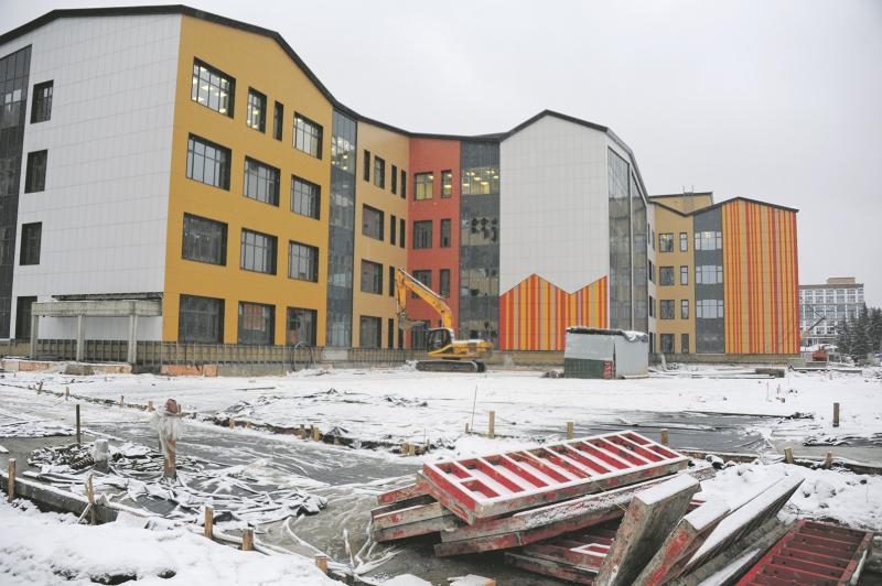 Две с половиной тысячи юных москвичей смогут учиться в новой школе Даниловского района
