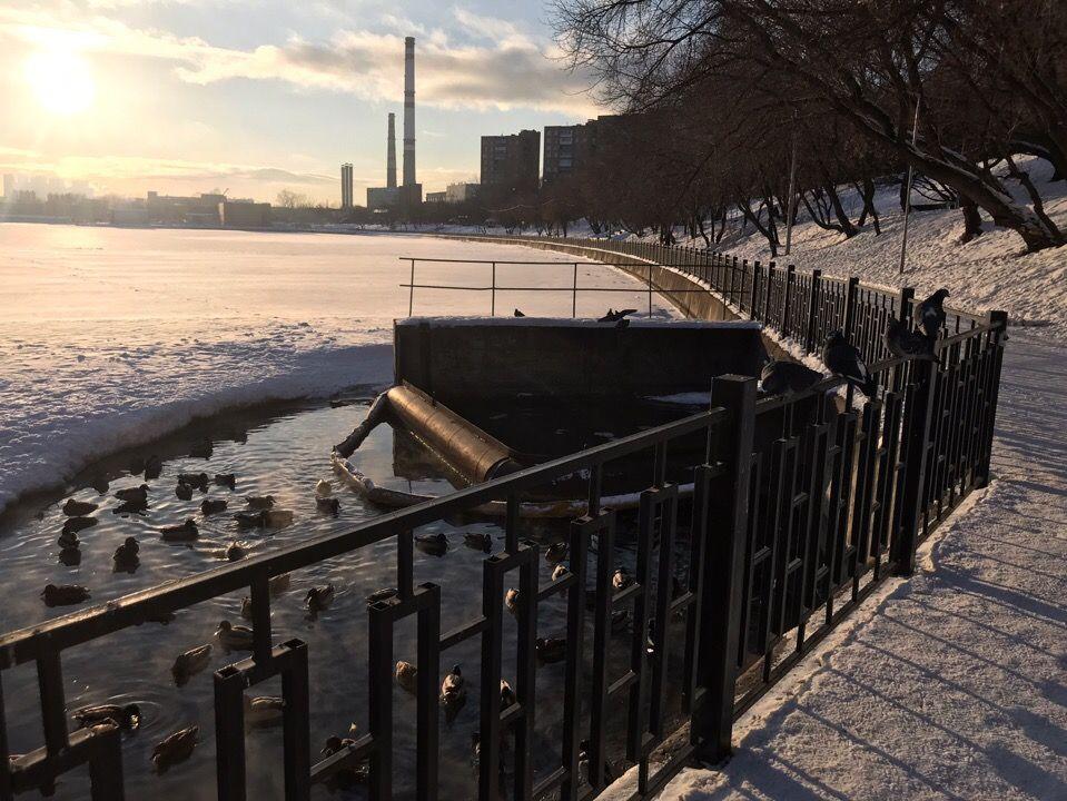 Хотя и очень маленький, но уютный Народный парк «Кожухово», проходящий через Москву-реку. Фото: Аксинья Бачурина
