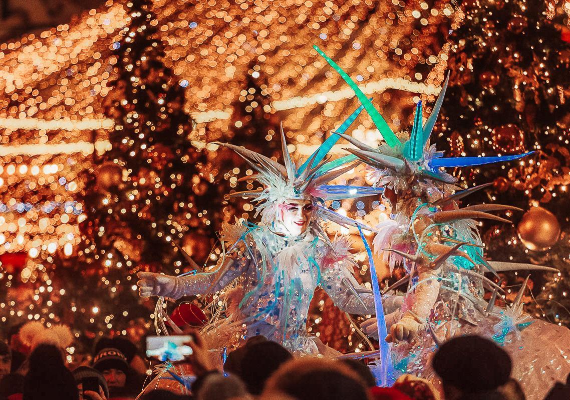 Первый снег: на площадке фестиваля «Путешествие в Рождество» покажут заключительные спектакли