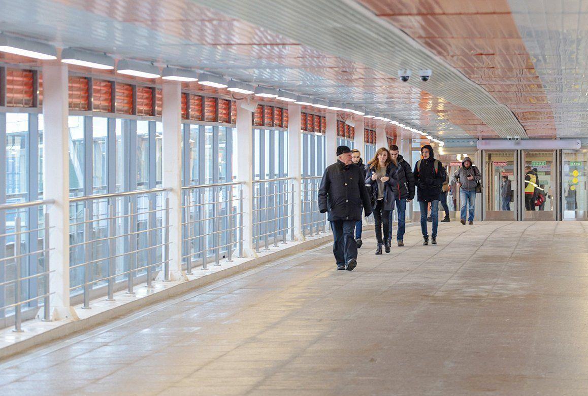 Временный пешеходный мост в Даниловском районе реконструируют