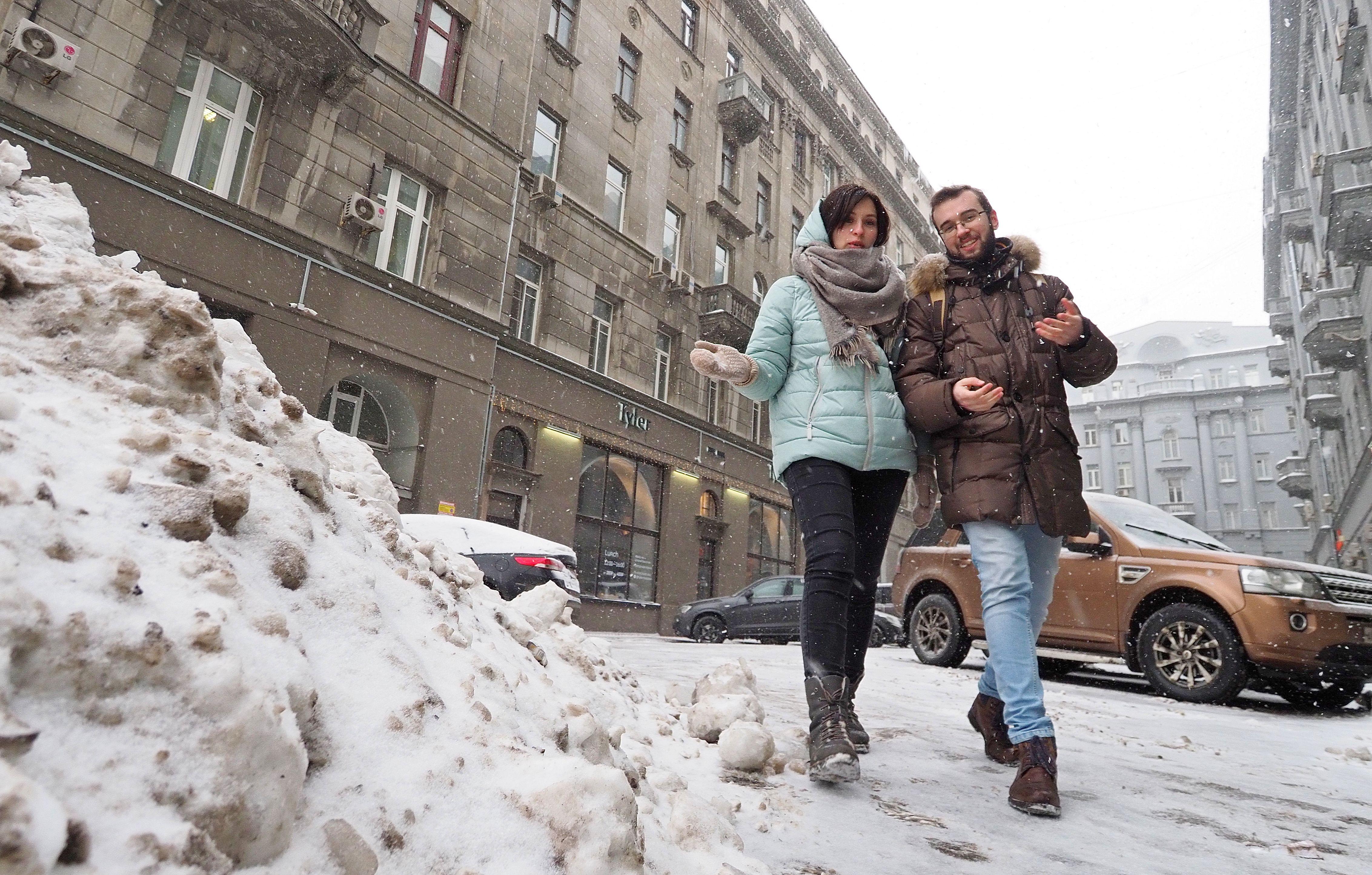 Среда принесет в Москву еще семь сантиметров сугроба
