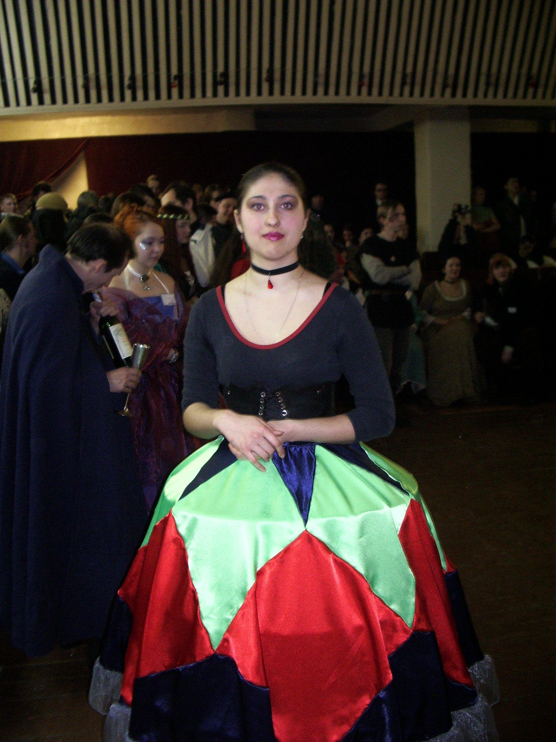 Молли на своем первом балу. Фото предоставила Вера Ушкевич