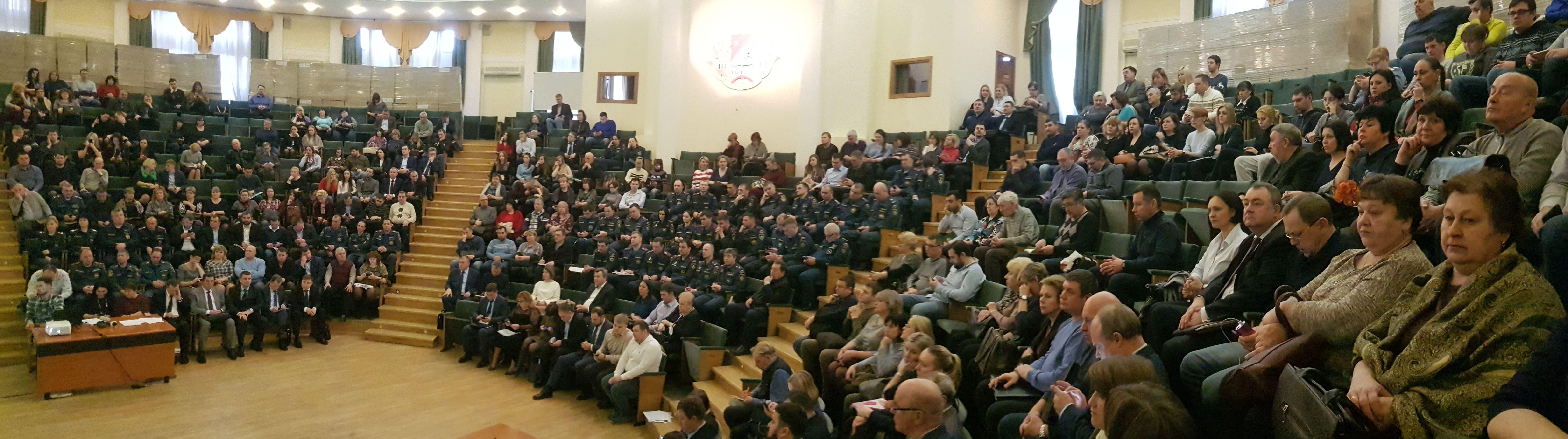Подведение итогов деятельности территориального звена МГСЧС за 2018 год и постановка задач на 2019 год в Южном округе Столицы