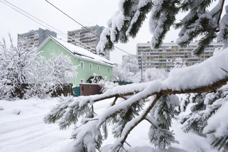 В Москве установлен новый рекорд по осадкам