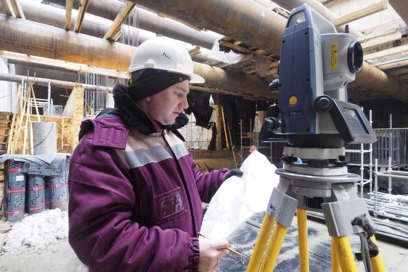 Рабочие приступили к основному этапу строительства станции БКЛ «Зюзино»
