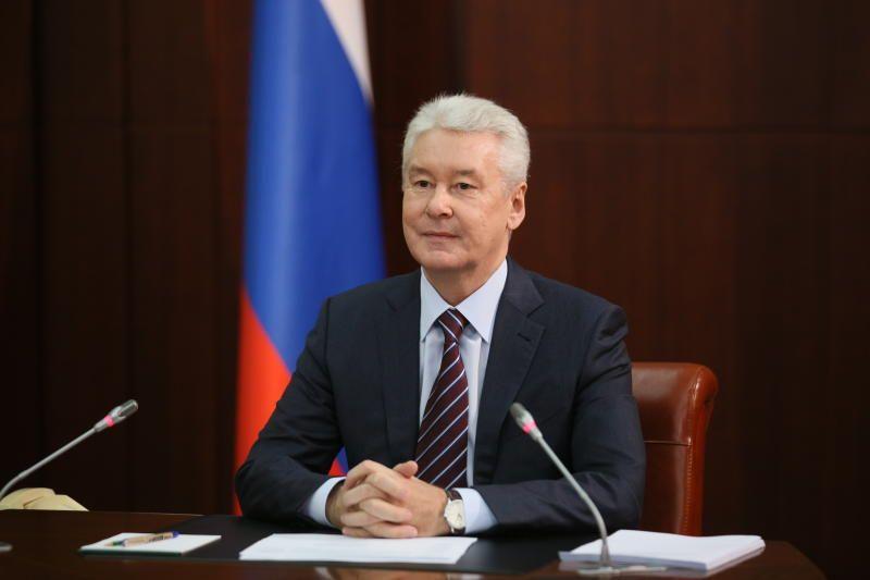 Сергей Собянин осмотрел ход строительства юго-западного участка БКЛ метро