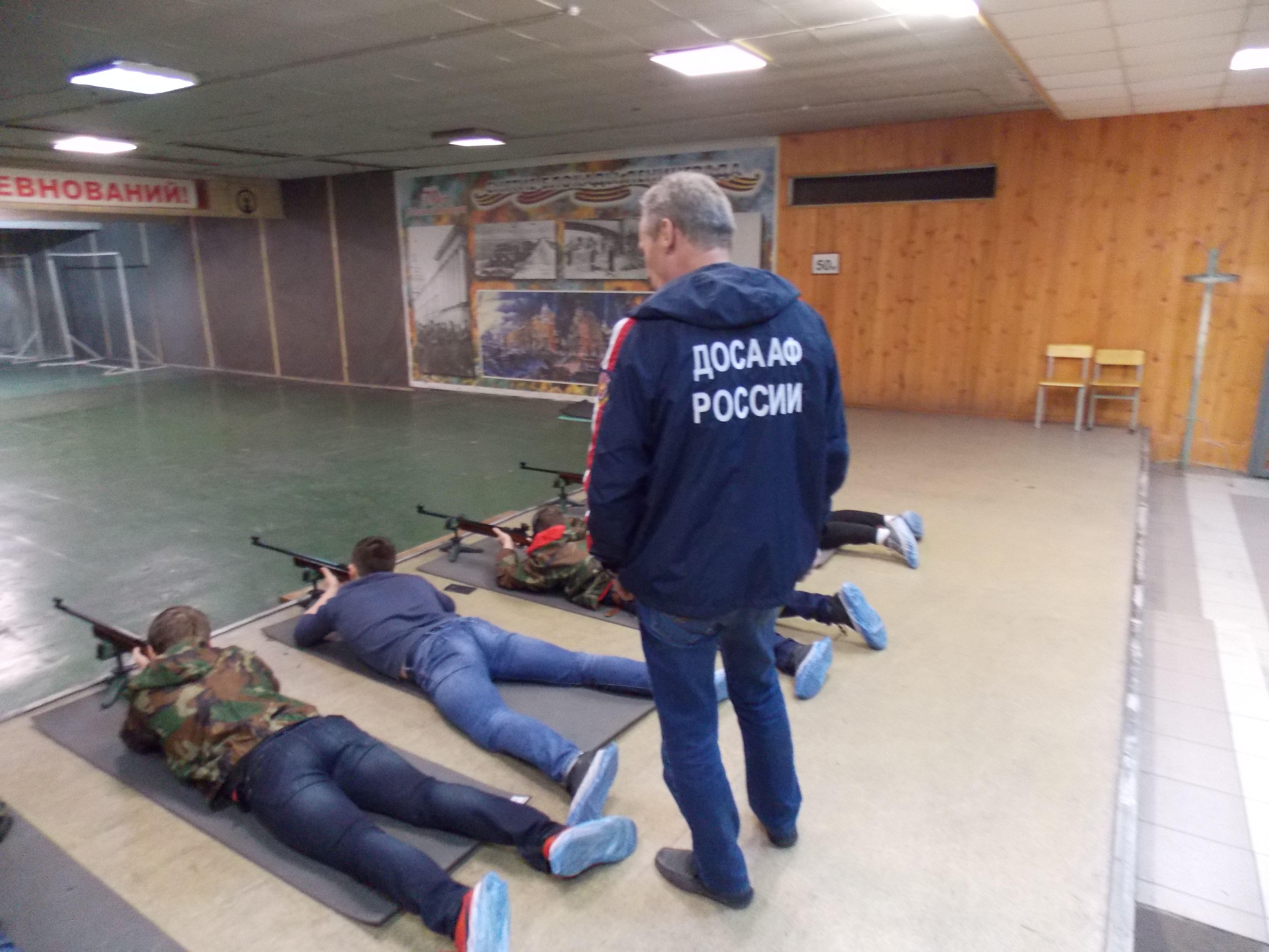 Соревнования по стрельбе из малокалиберных винтовок