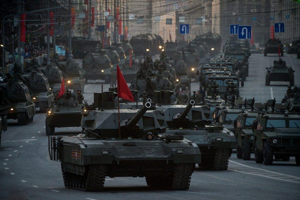 Военное шествие требует детальной репетиции. Фото: Александр Казаков