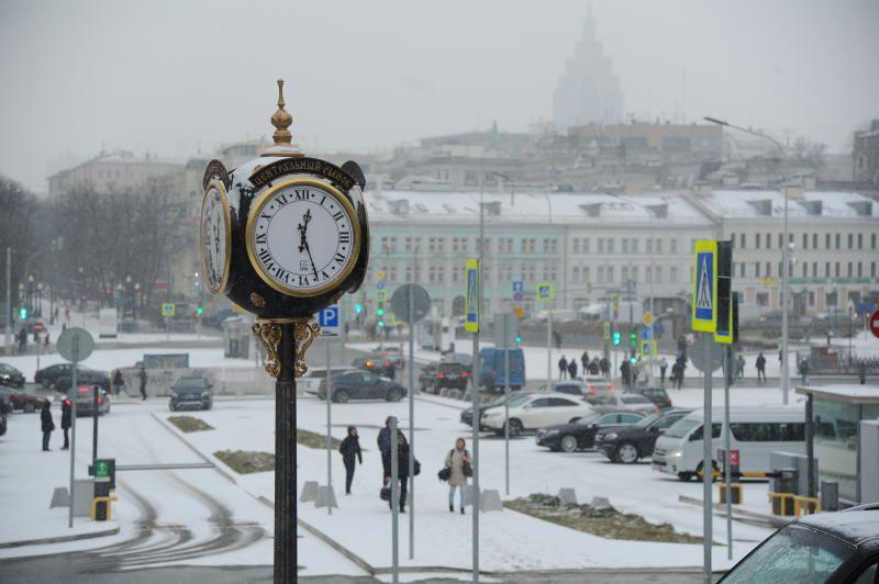 Холода придут в Москву к среде