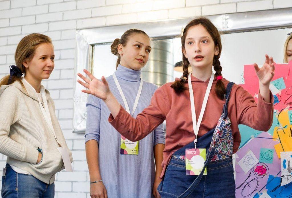 Юных художников пригласили в «Арт-лабораторию». Фото: сайт мэра Москвы
