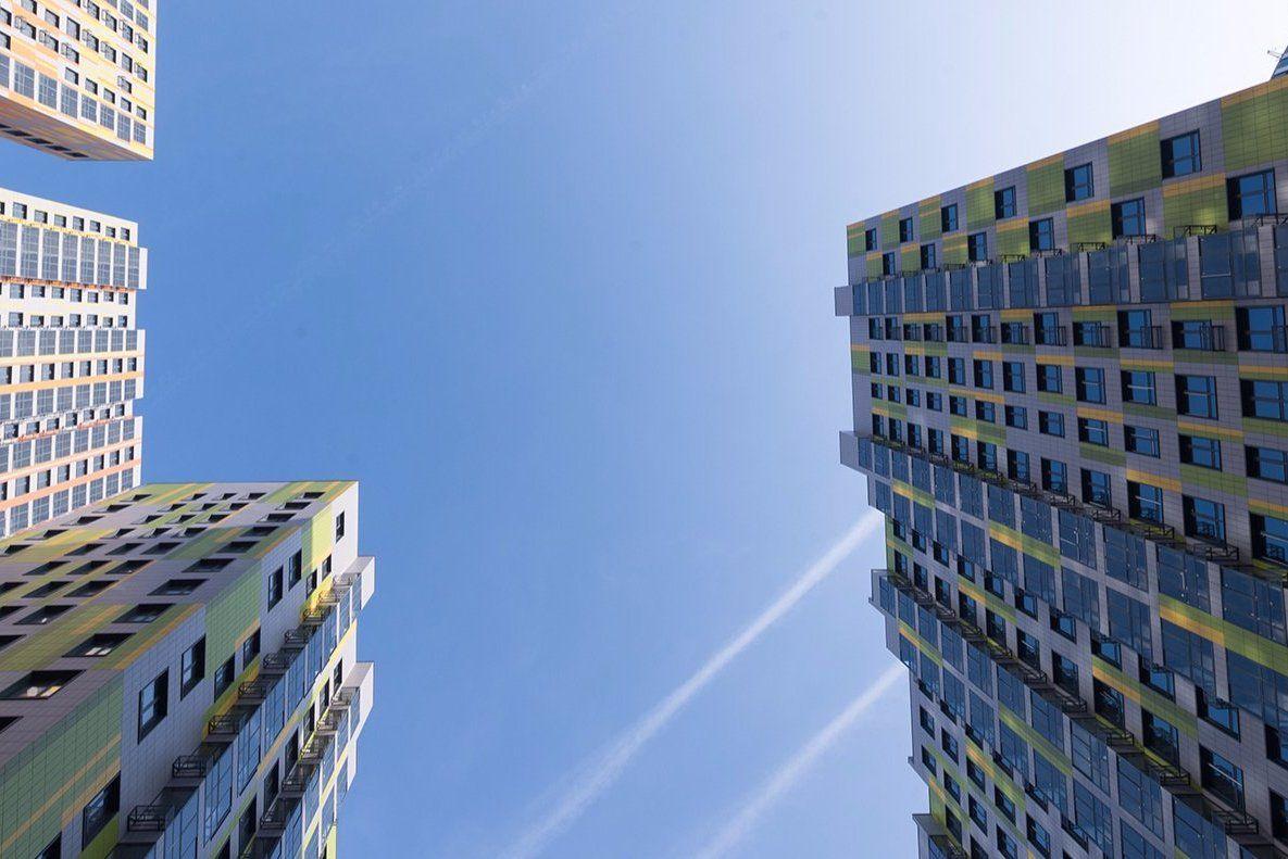 Отопление появилось в трех корпусах нового жилого комплекса в Царицыне