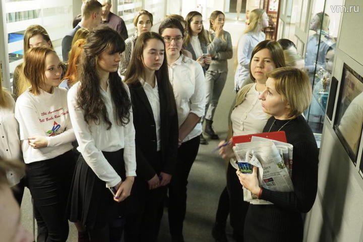 Школьникам из Орехова-Борисова Южного показали редакцию «Южных горизонтов»