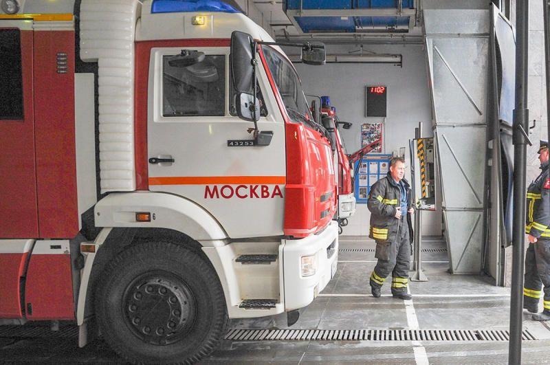 Пожарную часть в Даниловском районе реконструируют. Фото: сайт мэра Москвы