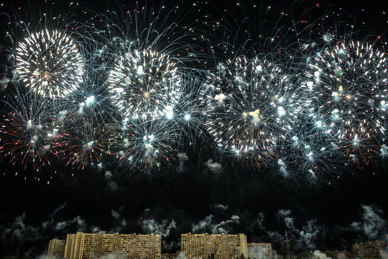 Пиротехническое шоу пройдет в Москве вечером 23 февраля