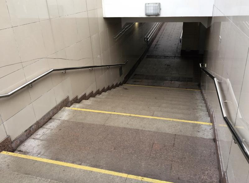 Специалисты завершили строительство подземногоперехода на Варшавском шоссе