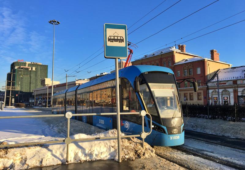 Трамвайную линию в Бирюлево установят на эстакаде