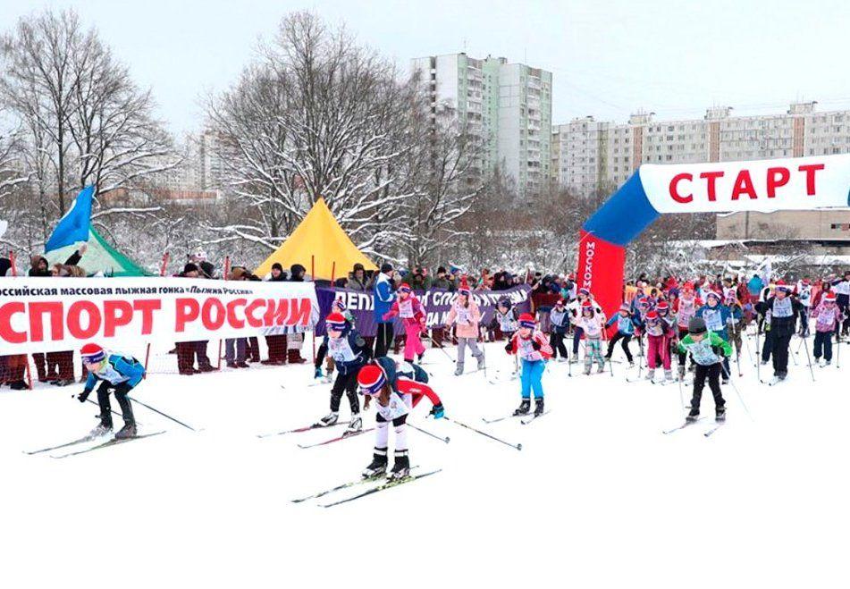 Жителей юга пригласили поучаствовать в соревнованиях «Лыжня России». Фото: сайт мэра Москвы