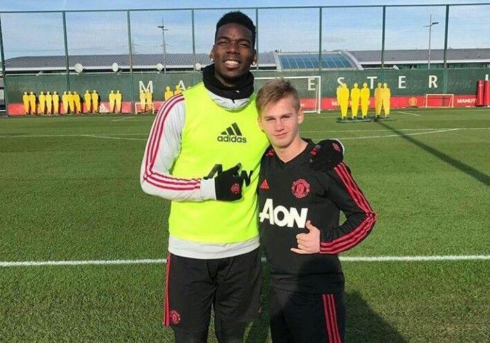 Юного игрока «Чертаново» позвали в «Манчестер Юнайтед»