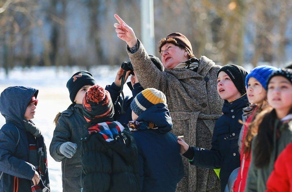 Как юные жители юга встретят перелетных птиц. Фото: сайт мэра Москвы